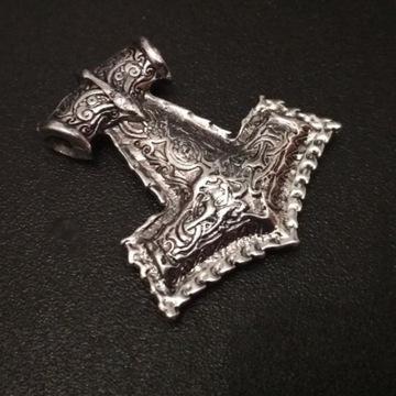 Młot Thora Wikingów Wikingowie Norwegia Runy Odyn