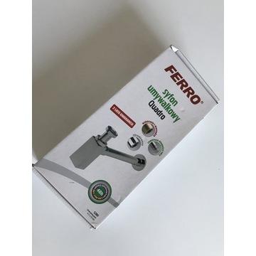 "Syfon umywalkowy FERRO QUADRO S280 G1 1/4"" CHROM"