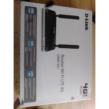 Ruter 4G LTE d- link  dwr -921