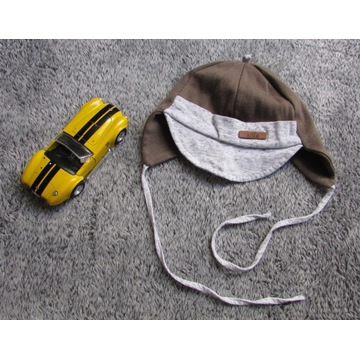 komplet czapka apaszka chustka NUS 42-44/12-18m