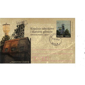 RYBNIK - Kopalnia, górnictwo 2010r. kartka pocz.
