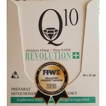 Koenzym Q10Revolution 12600mg/600mgNADH/płyn/30amp