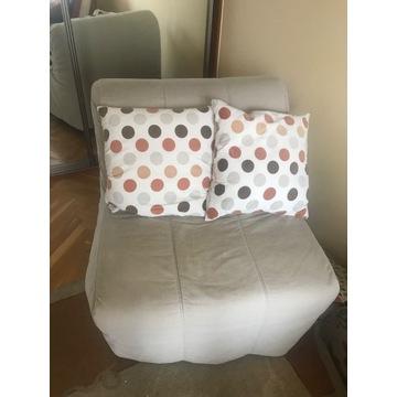 Rozkładany fotel IKEA, łóżko