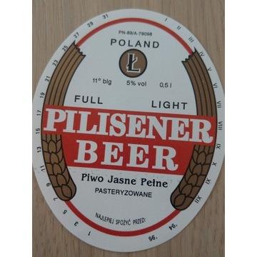 Leżajsk Pilisener beer