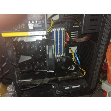 Komputer do gier 12 rdzeni, 16GB, RX 480 Strix