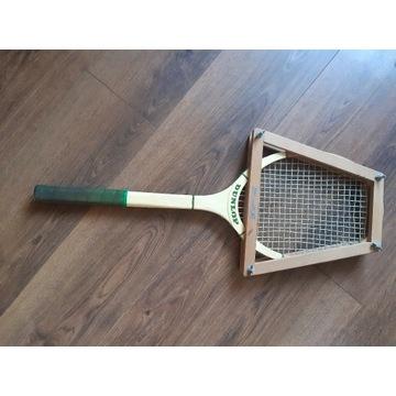 Rakieta tenisowa drewniana