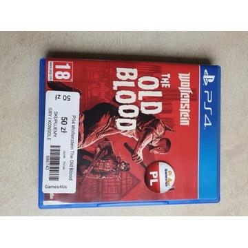 Wolfenstein The Old Blood na  PS4