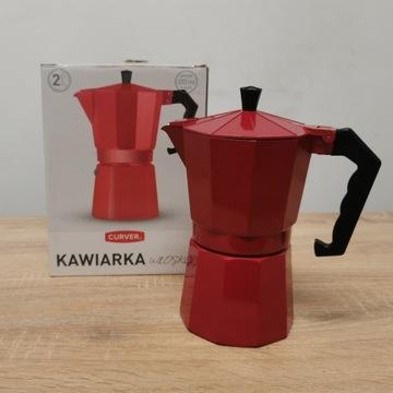 Kawiarka włoska Curver Nowa