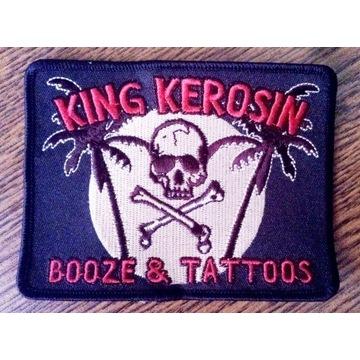 Naszywka King Kerosin- Booze & Tattoos