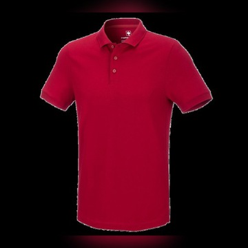 Engelbert Strauss Polo Cotton Deluxe r. L czerwona
