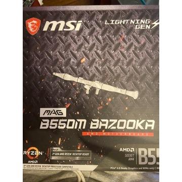 Msi Mag b550m Bazooka 30mc Gwr.