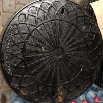 Właz żeliwny 1,5t 60cm Warszawa OP 600