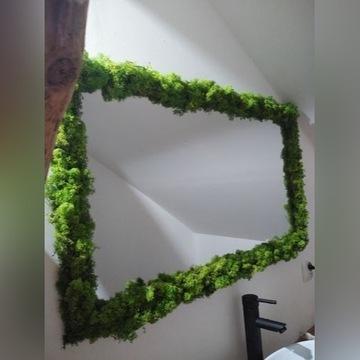 Lustro mech chrobotek loft design
