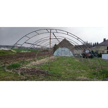 Tunel foliowy / szklarnia ogrodowa 30x6
