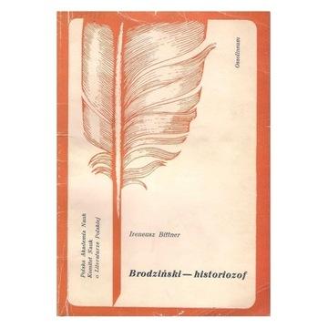 Brodziński - historiozof. Ireneusz Bittner