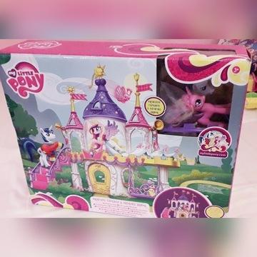 My Little Pony Zamek Księżniczki Cadance Celestia
