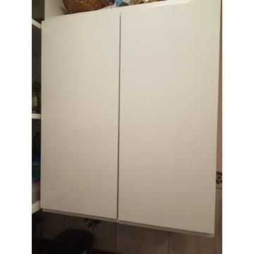 Szafka  wisząca 60cm ,,PARMA,, biała połysk