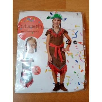 Kostium indianki na 4-6 lat