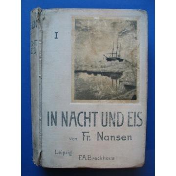 Książka Nansen Noc w lodach