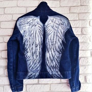 Skrzydła anioła, kurtka hand made