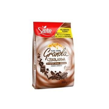 Granola czekoladowa Sante płatki śniadaniowe 350g
