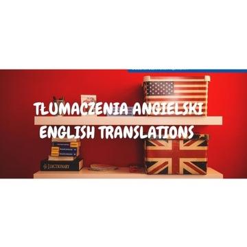 Tlumaczenie jezyk angielski na polski *NAJTANIEJ**