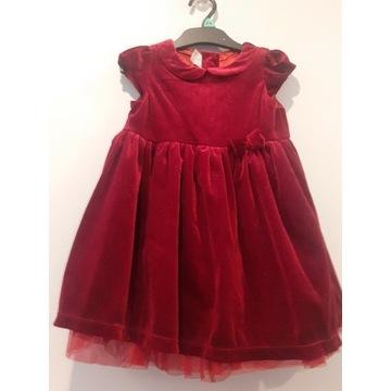 Sukienka H&M roz.92, święta