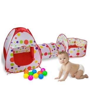 namiot dla dzieci 3w1