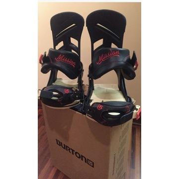 Wiązania snowboardowe Burton Mission S