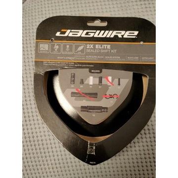 Jagwire 2x Elite Sealed Shift Kit - niekompletny