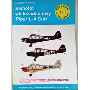 TBiU 130 Samolot wielozadaniowy Piper L-4 Cub
