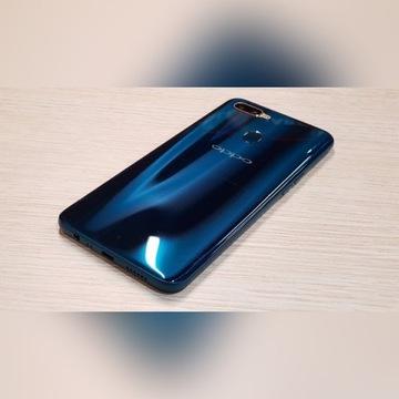 Oppo AX7 Glaze Blue  Jak nowy - etui Gratis