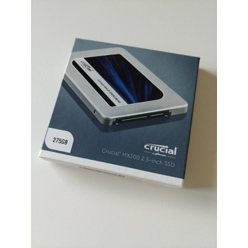 Dysk SSD Crucial 275GB 2,5'' SATA MX300 + Adapter