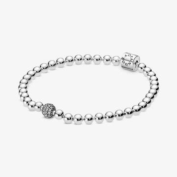 prezent oryginalna bransoletka Pandora sześcienna
