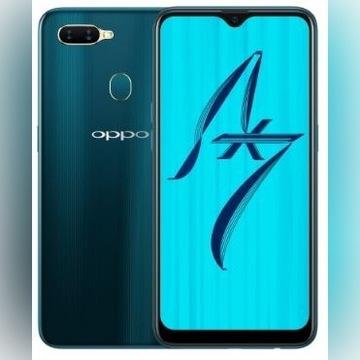 nowy SMARTFON OPPO AX7 4/64GB DUAL SIM GLAZE BLUE