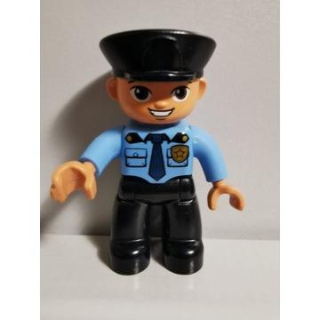 Oryginalna figurka LEGO DUPLO Pan Policjant TATA