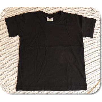 Koszulka ADLER Classic 160 czarna 122cm/6 lat NOWA