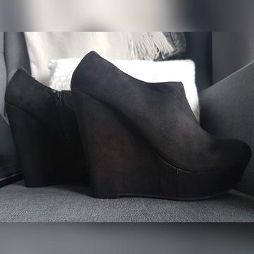 Koturny New Look 38 czarne