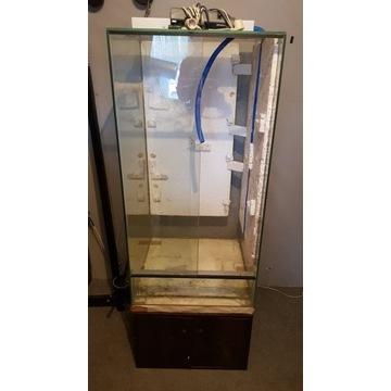 Terrarium szklane, wertykalne 60x60x120
