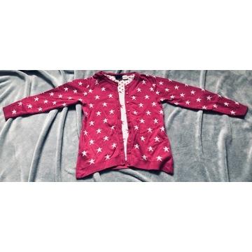 Różowy sweterek w gwiazdki