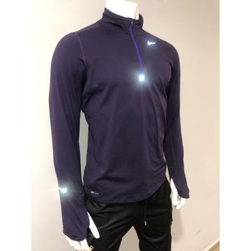 Bluza męska Fit Pro Nike ciemny Fiolet