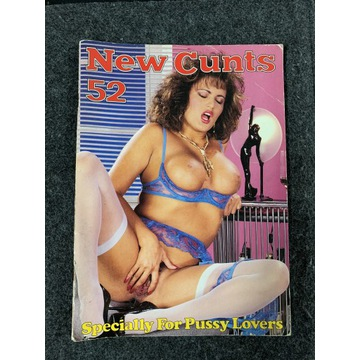 New Cunts no 52 Vintage 1988r. Color Climax