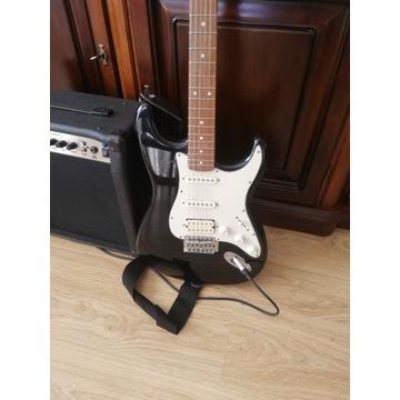 Gitara elektryczna Stagg, 4 przetworniki