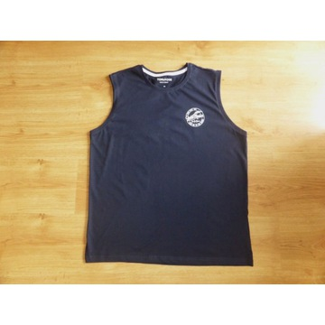 Koszulka bez rękawów granatowa - NOWA - L/XL