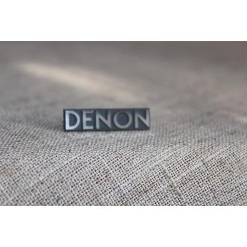 Denon logo znaczek oryginalny audio