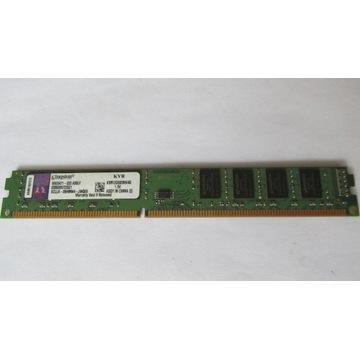 PAMIĘĆ DDR 3  4GB KINGSTONE 1333 BUS  DO PC