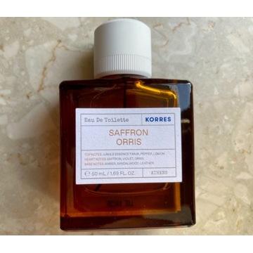 Korres - nowa woda toaletowa Saffron orris