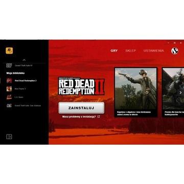Konto Rockstar Games *RDR2, GTA SA, Max Payne 3*