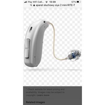 Aparat słuchowy Oticon Siya 2miniRITE-T+akcesoria