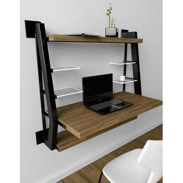 Stelaż pod biurko w stylu loft